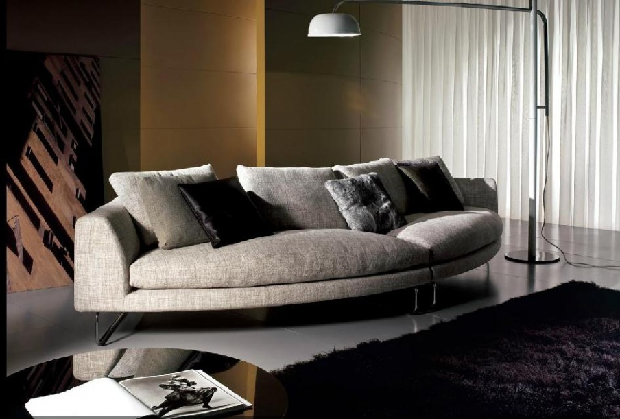 Leather Couch Metal Frame