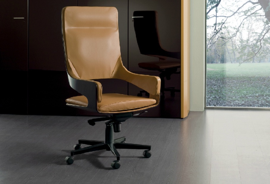 Office Chair Silhouette I4 Mariani Luxury Furniture Mr