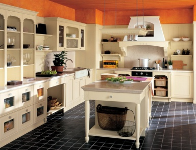 Doimo Cucine creates a comfortable and functional kitchen furniture ...
