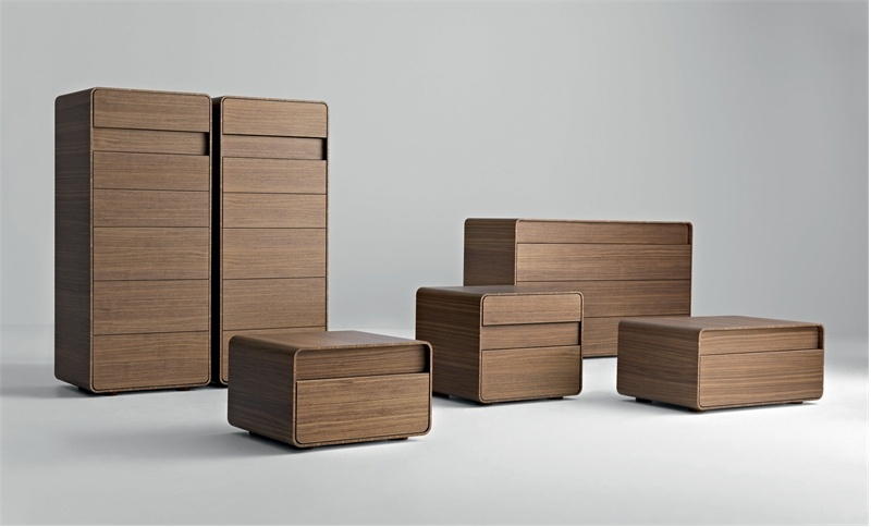 Series of chests of drawers and bedside tables Markus, Massimo Castagna