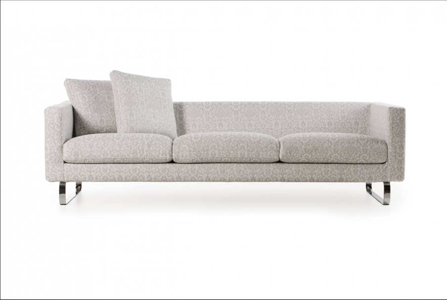 Sofa on a steel frame filled with polyurethane foam Boutique Silver ...