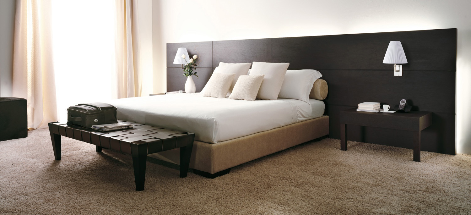 Hotel Bed With Headboard Porada Luxury Furniture Mr