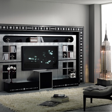 Furniture for home theater Home Cinema The Wall