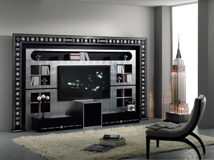 Furniture for home theater, The Wall, Home Cinema, Vismara