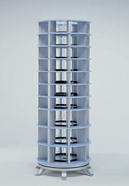 Rack Revolving Tower