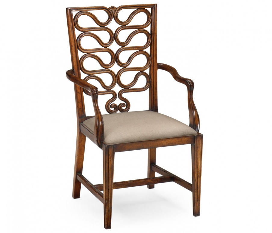 Chair with armrests Windsor, Jonathan Charles