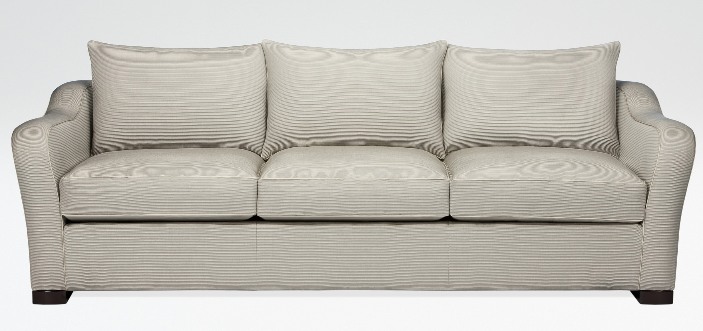 debussy three seater sofa with removable cushions armani
