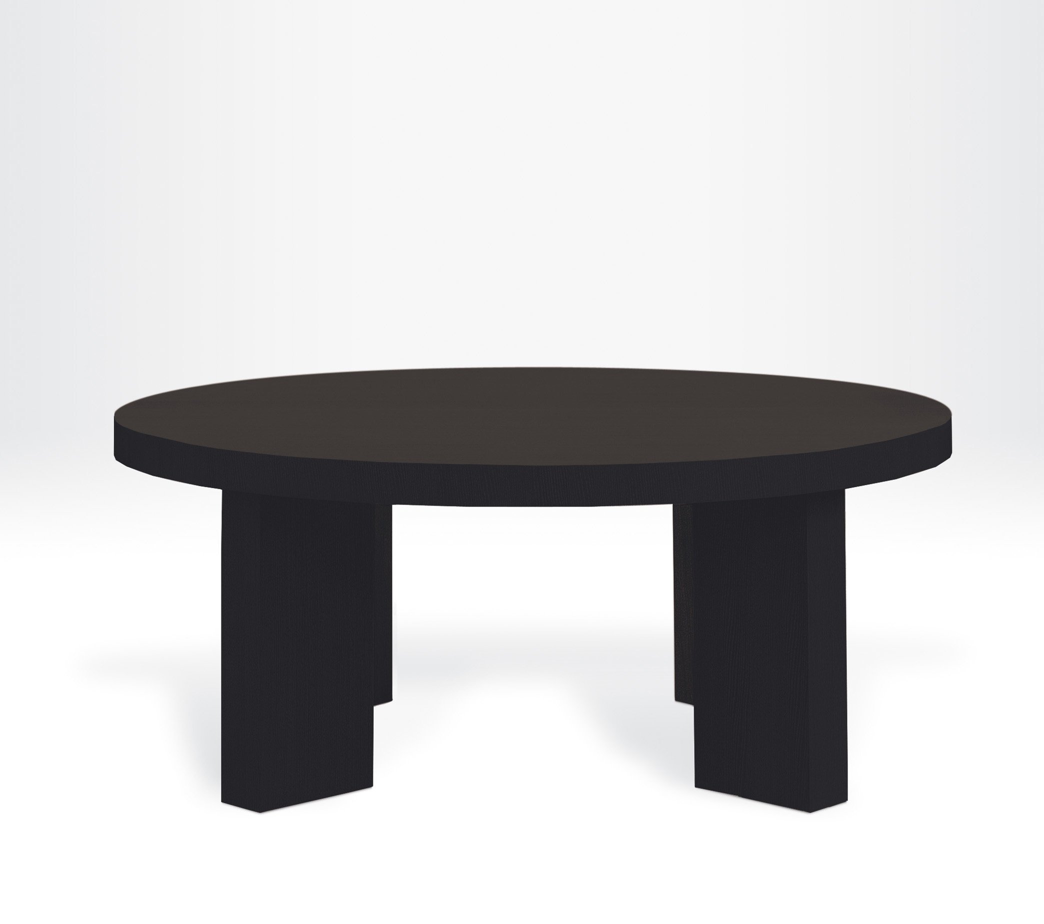 Dining table New York round shape Armani Casa Luxury furniture MR