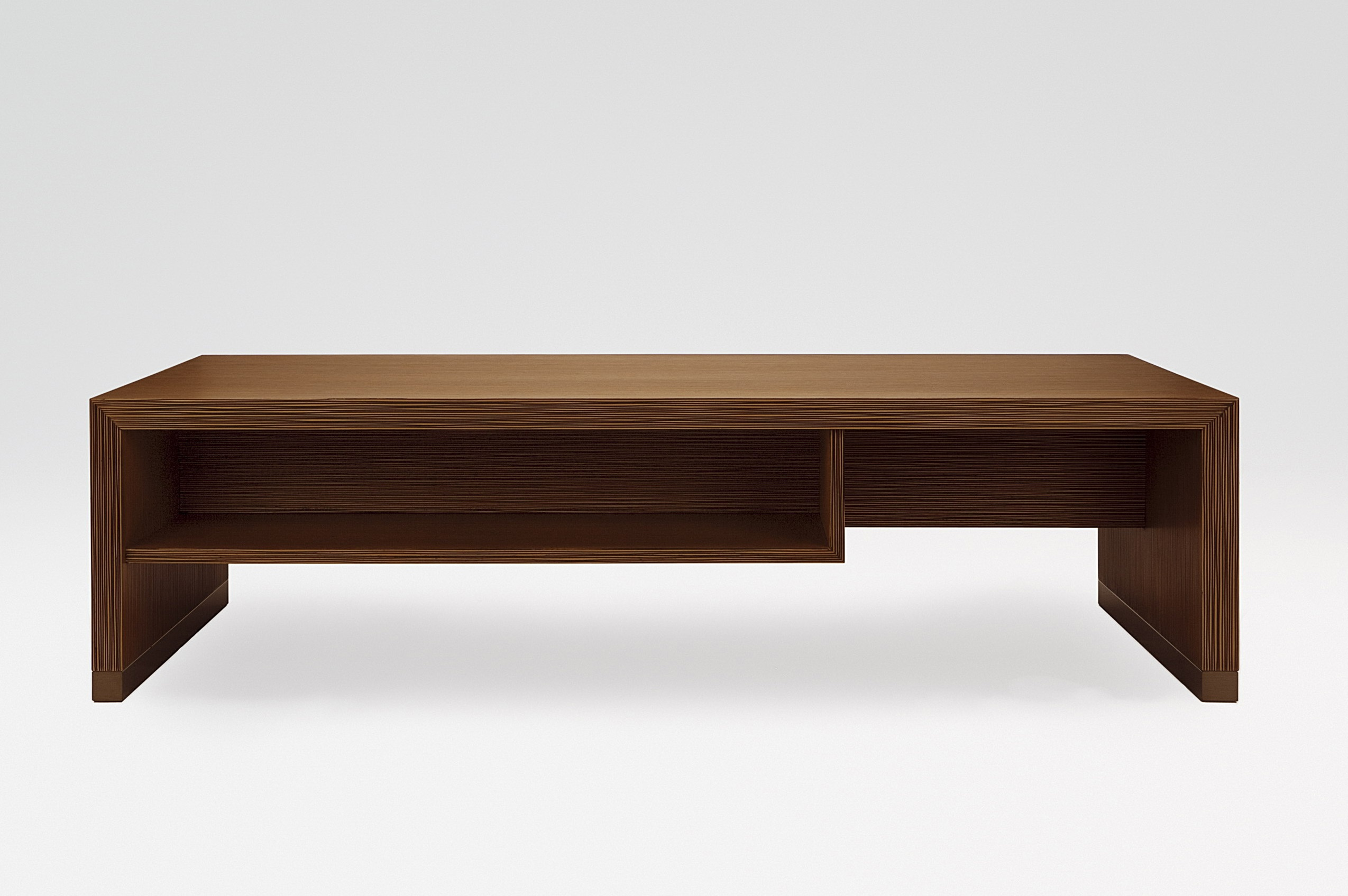 Tate coffee table with integrated shelf Armani Casa Luxury