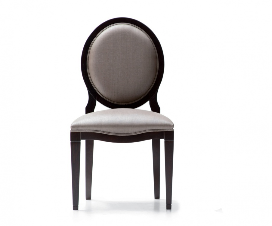 Chair with textile upholstery without armrests Opera Contemporary of Angelo Cappellini