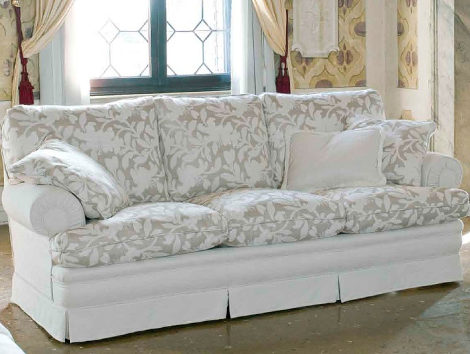 Campello triple sofa with removable cushions, Ville Venete - Luxury ...