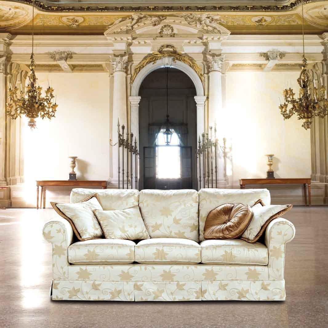 The double semicircular sofa with armrests san marco for Furniture ville