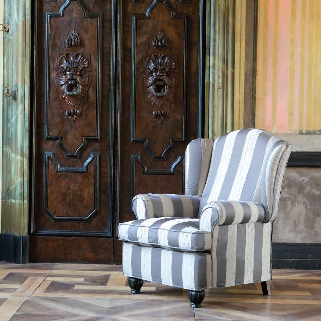 The high backed chair antony ville venete luxury for Furniture ville