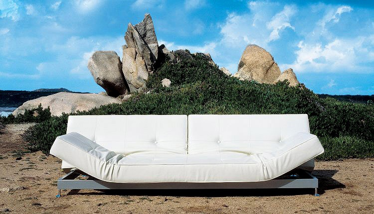 Damier Frame Steel LongueEdra Chaise The Sofa Bed Of Tubes roeCxWdB