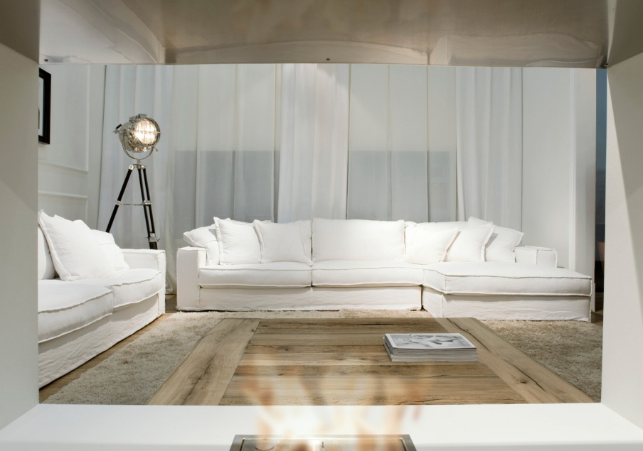 Modular sofa with removable cushions Keywest, Ville Venete - Luxury ...