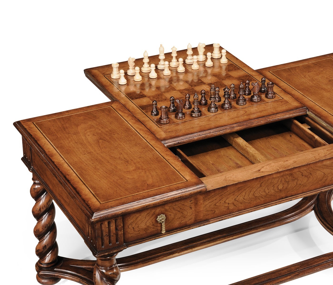 Coffee Table For Playing Chess And Backgammon Windsor Jonathan Charles