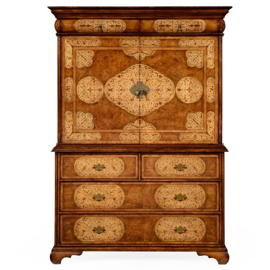 cabinet for tv with inlaid la rochelle jonathan charles luxury furniture mr