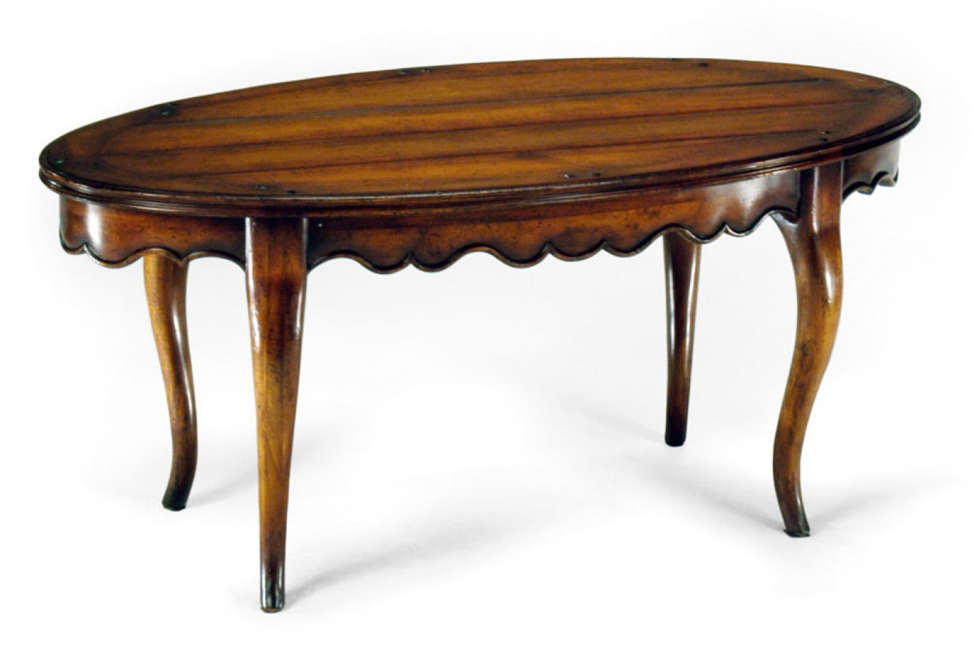 Table with oval top Country Farmhouse Jonathan Charles Luxury furniture MR