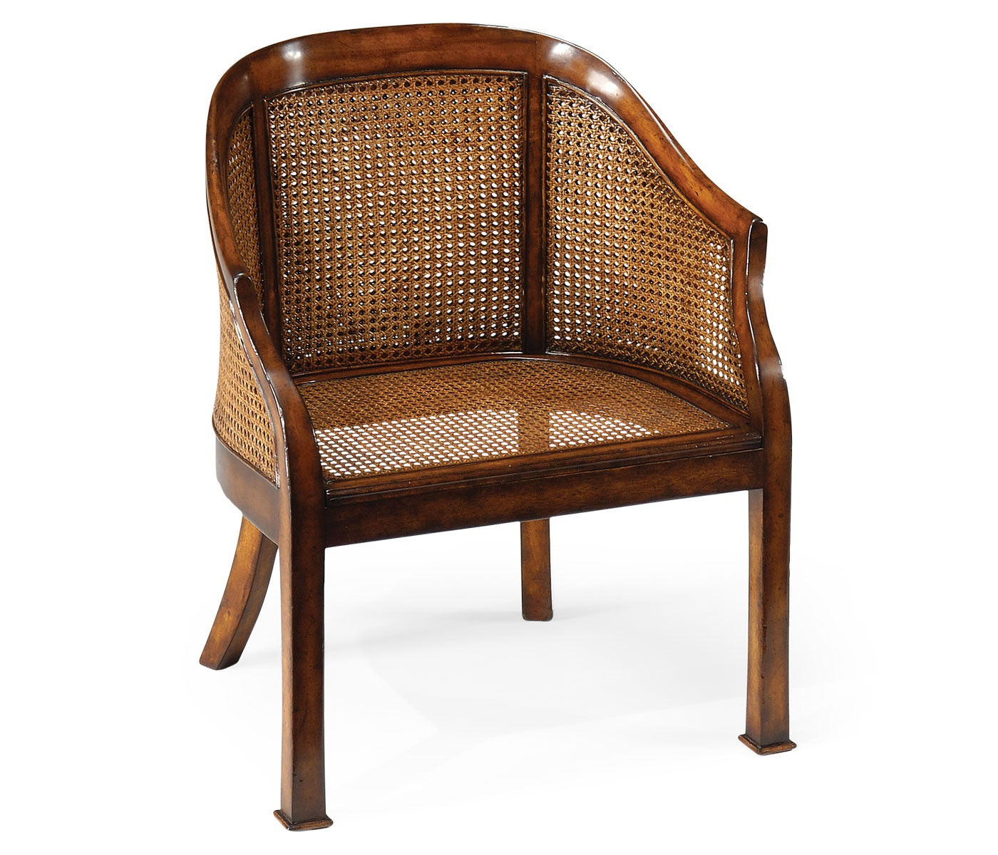 Chair with wicker seat Country Farmhouse Jonathan