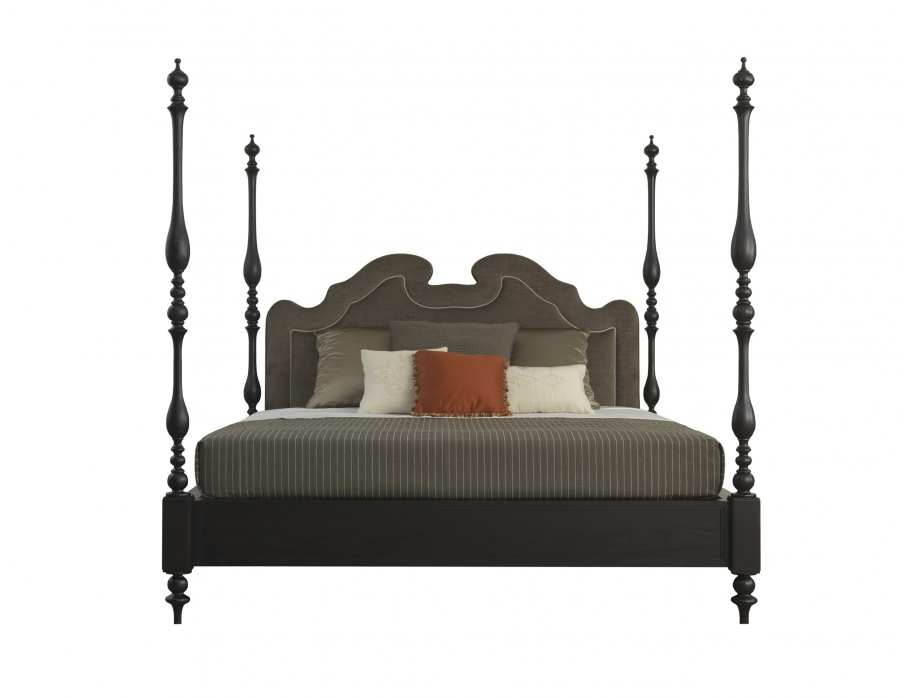 A Double Four-poster Bed Dongiovanni, A Frame Made Of