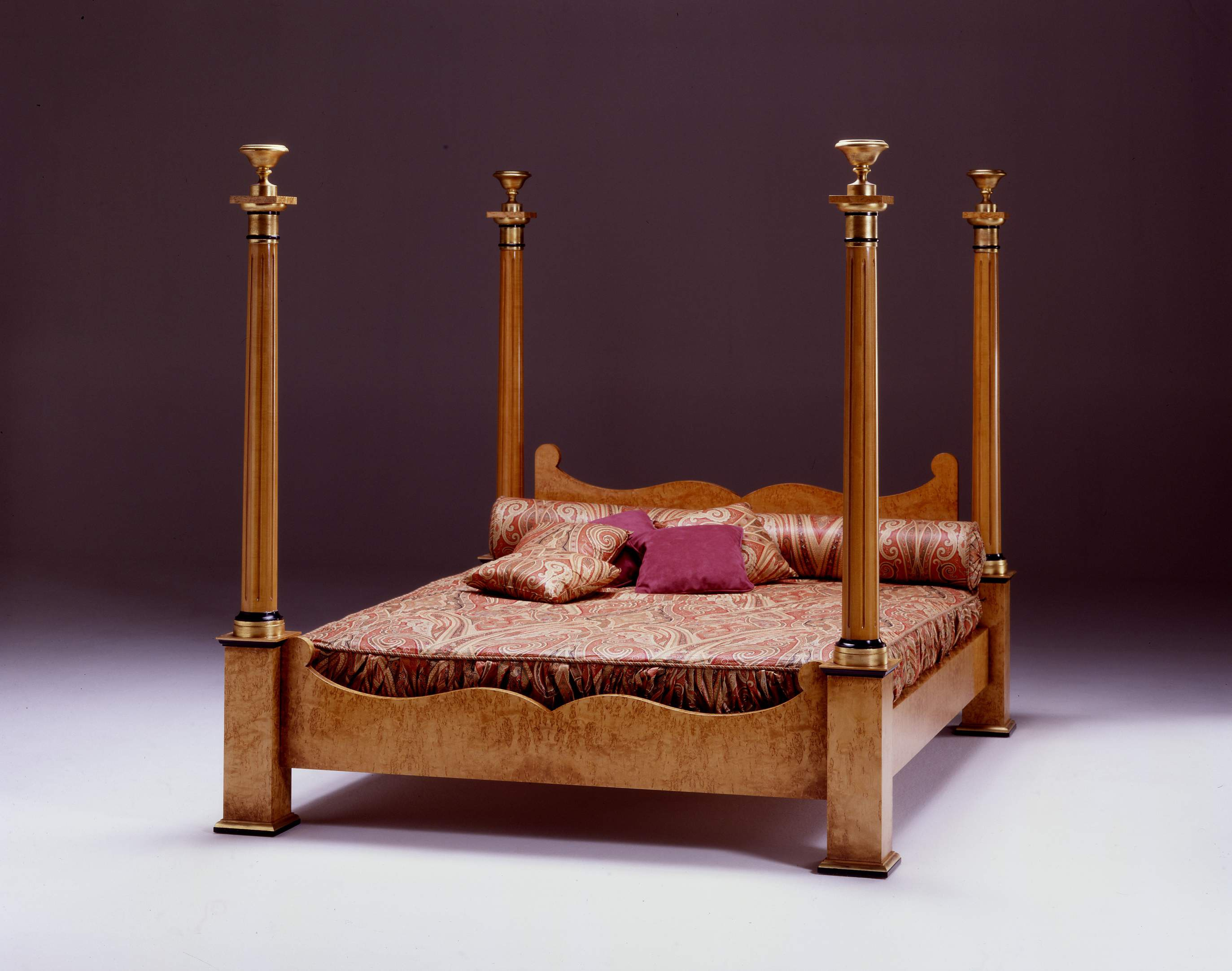 A Four Poster Bed Impero Colombo Stile Luxury Furniture MR
