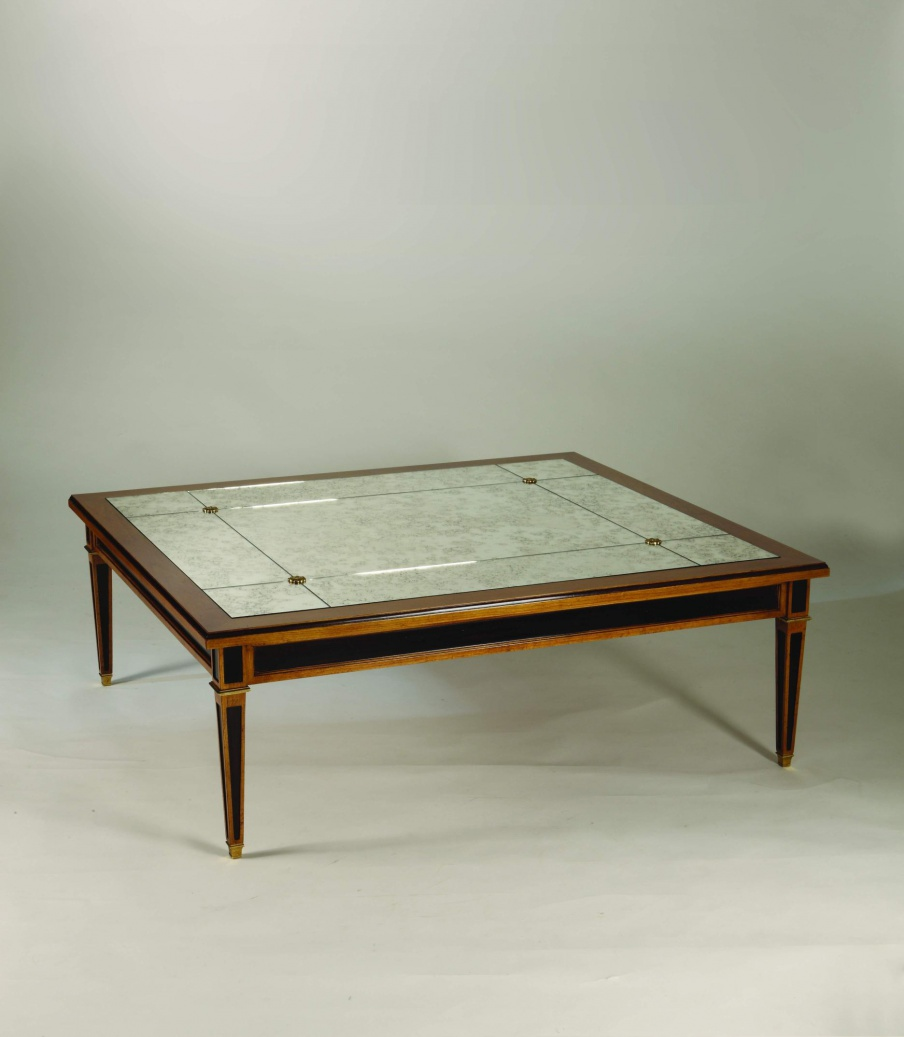 Merveilleux Coffee Table Natural Wood Sandra Rossi, Colombo Stile