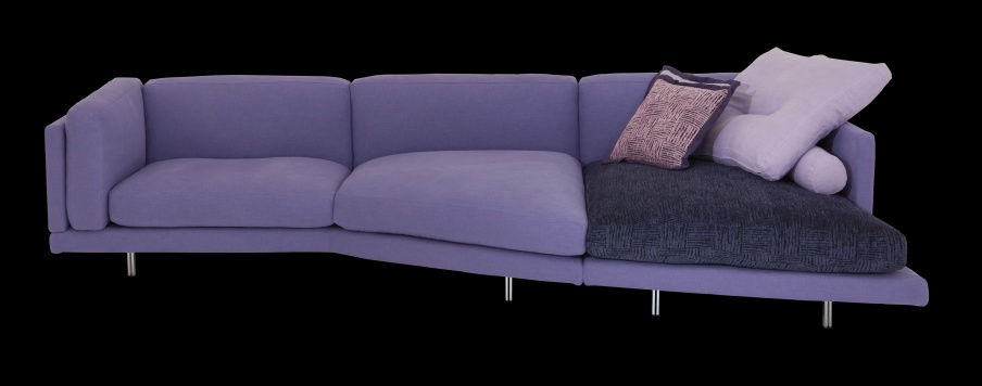 Sofa Triple Galaxy Il Loft Luxury Furniture Mr