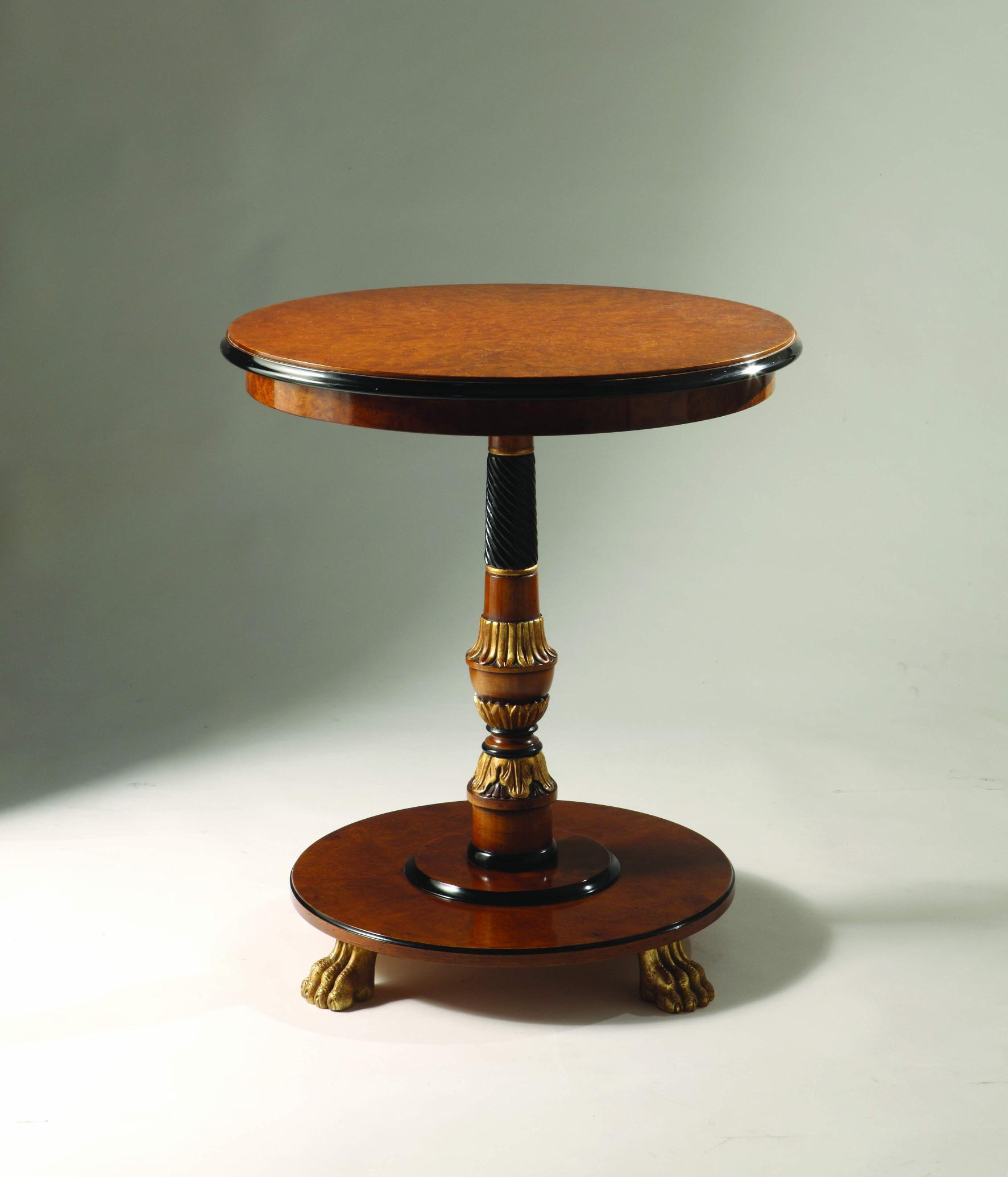 Coffee Table Natural Wood Sandra Rossi, Colombo Stile