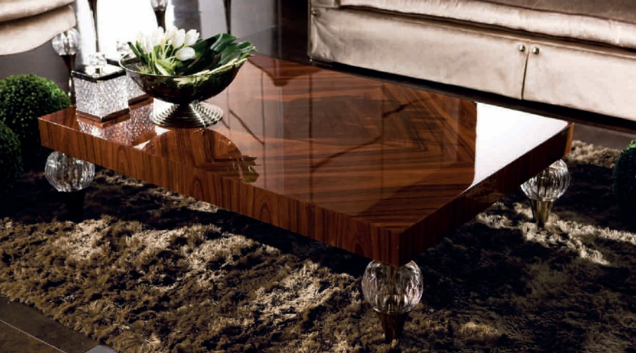 Grenada coffee table made of solid wood jc passion for Table passion