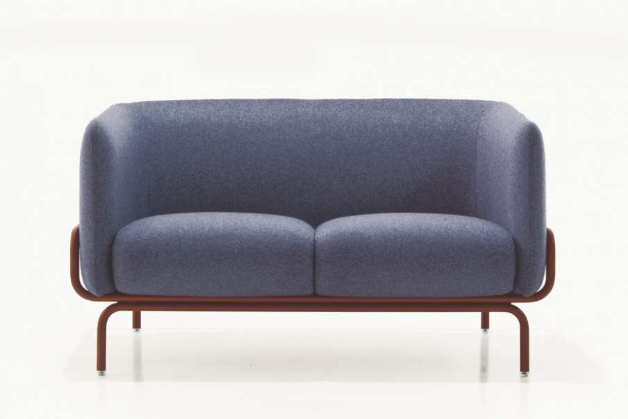 The Couch Is Steel Framed Chandigarh Moroso Luxury