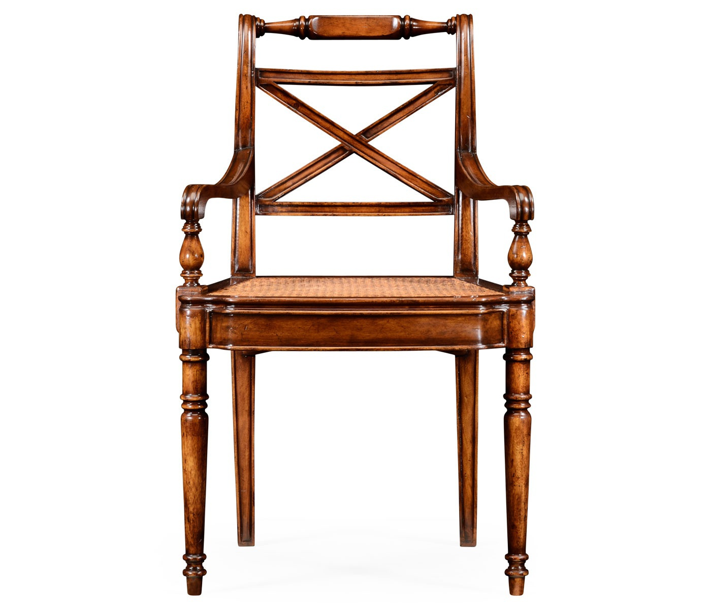 Dining Room Supervisor Job Description: Chair Wood With Wicker Seat Cane Windsor, Jonathan Charles
