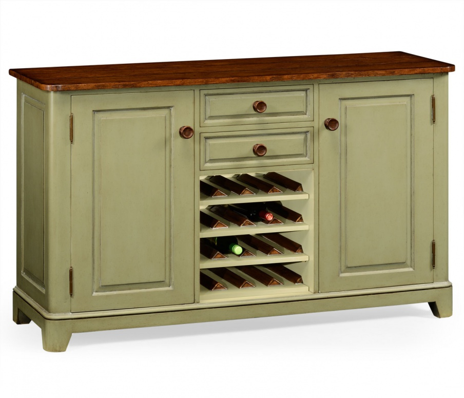 Buffet With Wine Rack And Two Doors Huntingdon Jonathan Charles Luxury Furniture Mr