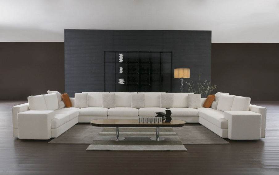 The Ellington Sofa Modular Corner With A Wooden Frame Il