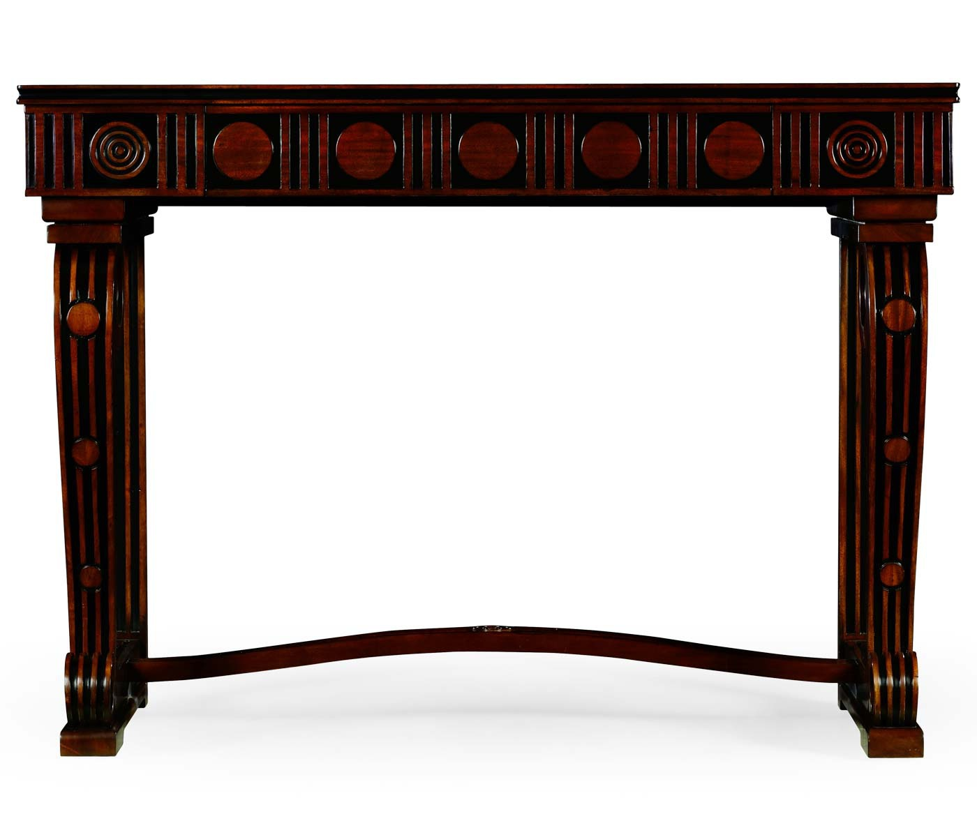 Console wood carved Dudley Jonathan Charles Luxury