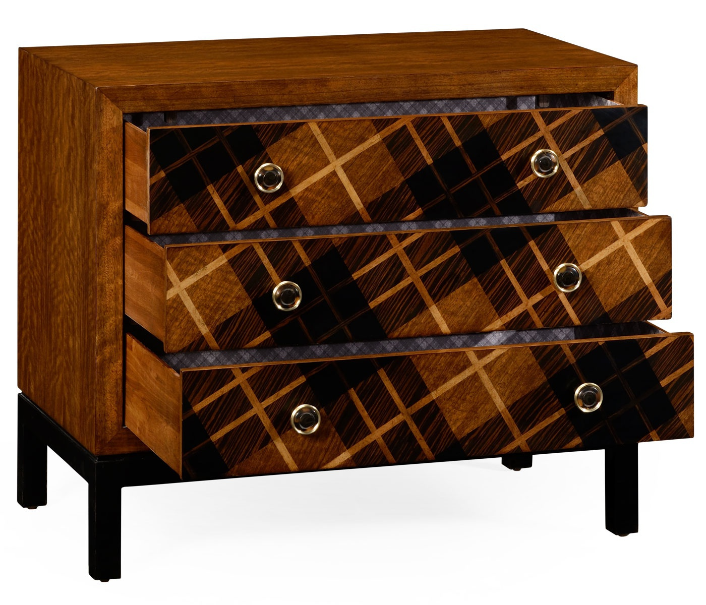 chest of drawers with inlaid wood facade alexander julian