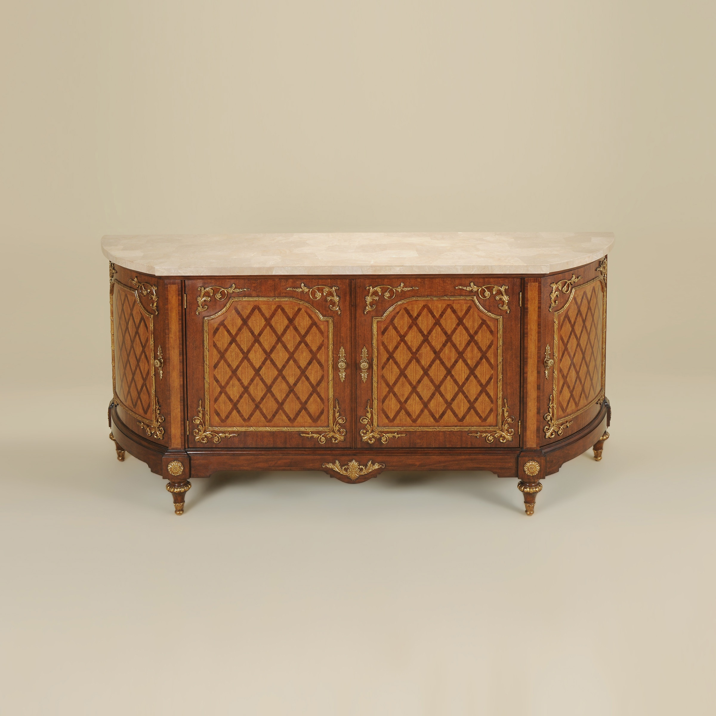 Dresser Cherry Wood With A Stone Top Maitland Smith Luxury Furniture Mr