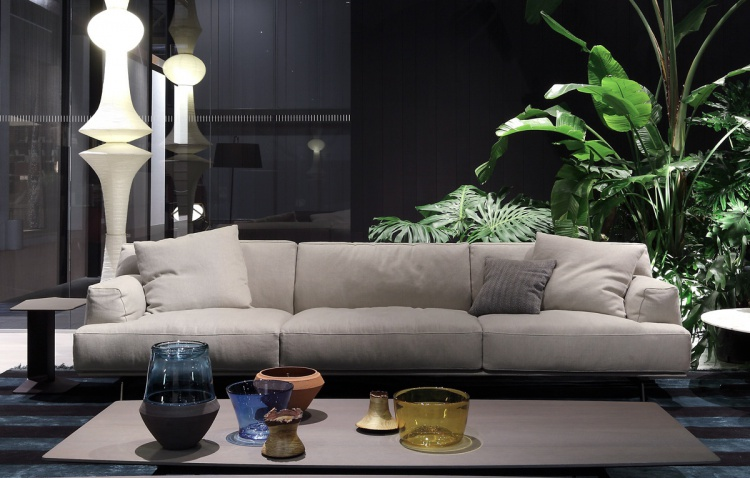 THREE SEATER SOFA, TRIBECA - POLIFORM