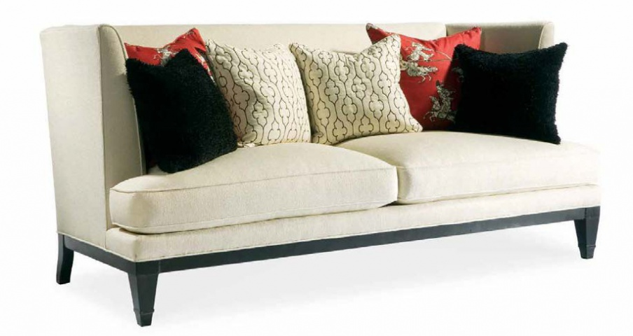 Two Seater Sofa, Hickory White
