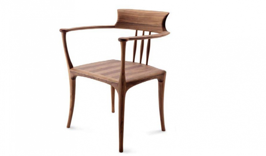 Chair with armrests Cigarra, Ceccotti