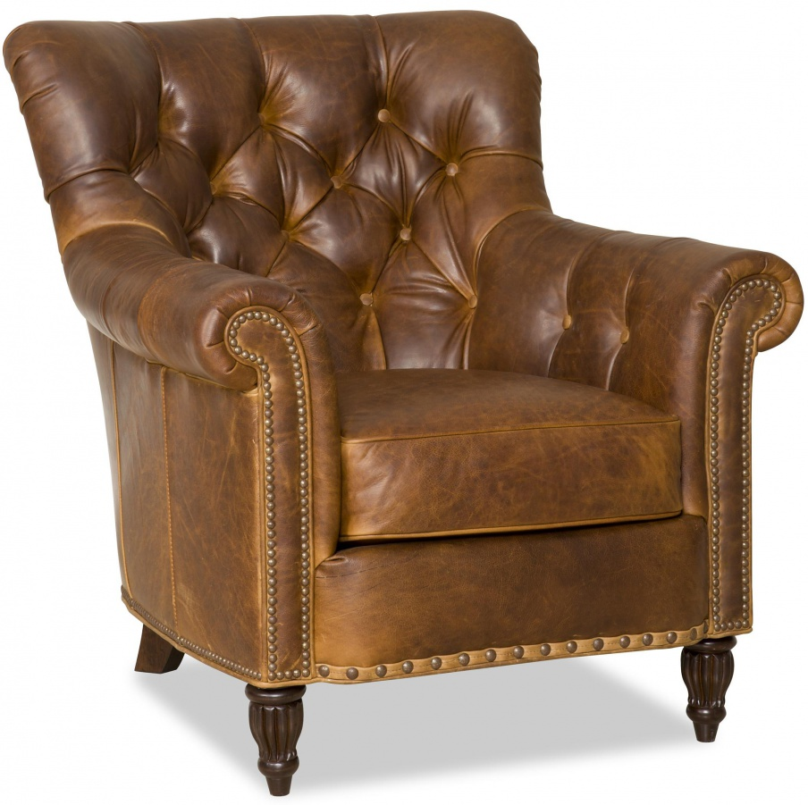 The Kirby chair with wooden frame Bradington Young