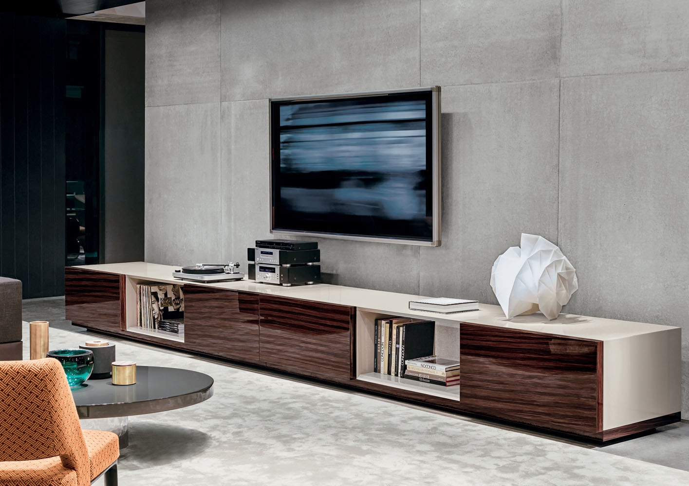 Table For Tv Connors Minotti Luxury Furniture Mr
