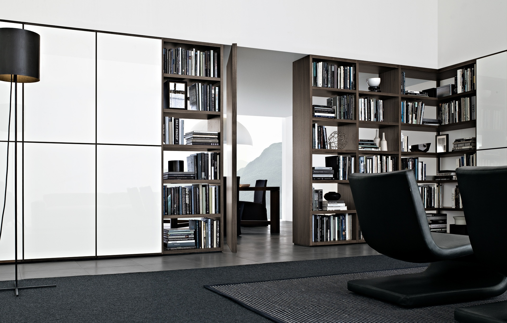 Modular storage Wall System Poliform