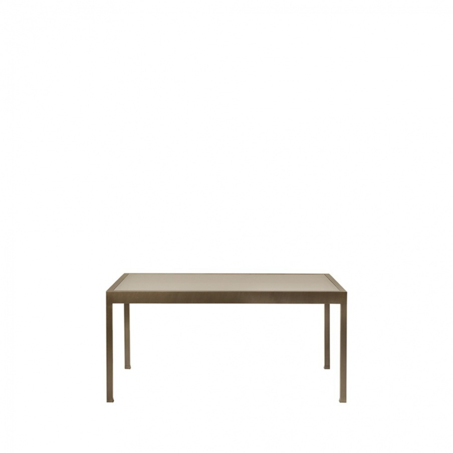Table Gong with glass top, Promemoria  Luxury furniture MR