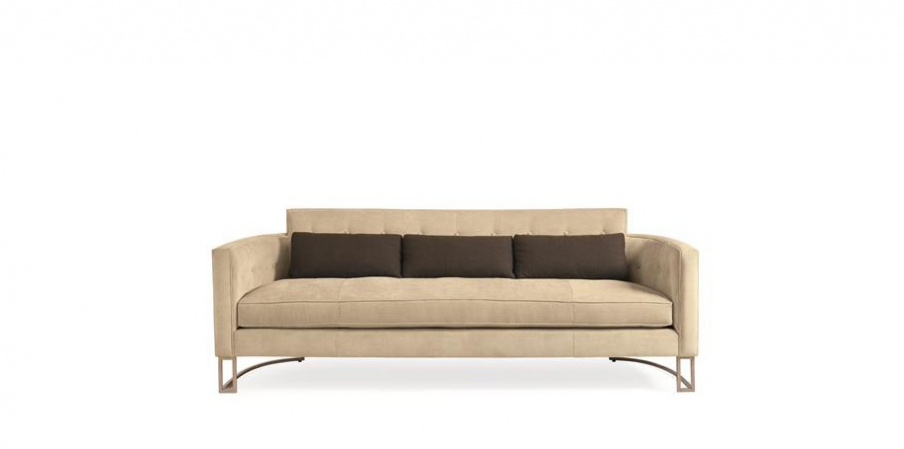 Three Seater Sofa Artisan Caracole Light Luxury