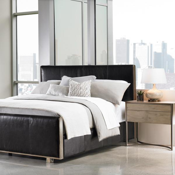 Double bed comfort zone caracole light luxury furniture mr for Furniture zone beds