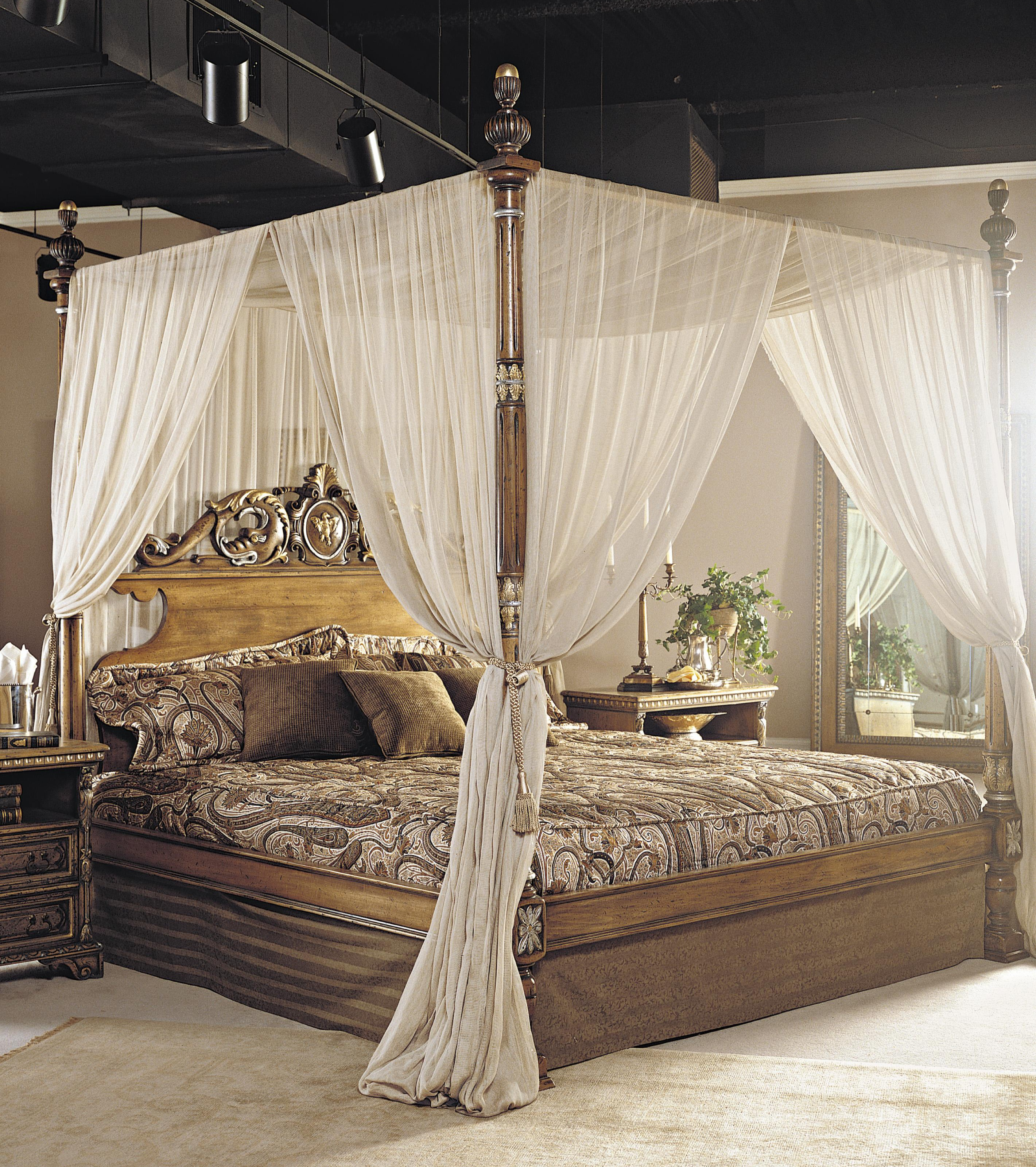 double bed with canopy francesco molon luxury furniture mr. Black Bedroom Furniture Sets. Home Design Ideas