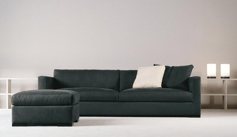 two seater sofa with frame of wood belmondo xl meridiani. Black Bedroom Furniture Sets. Home Design Ideas