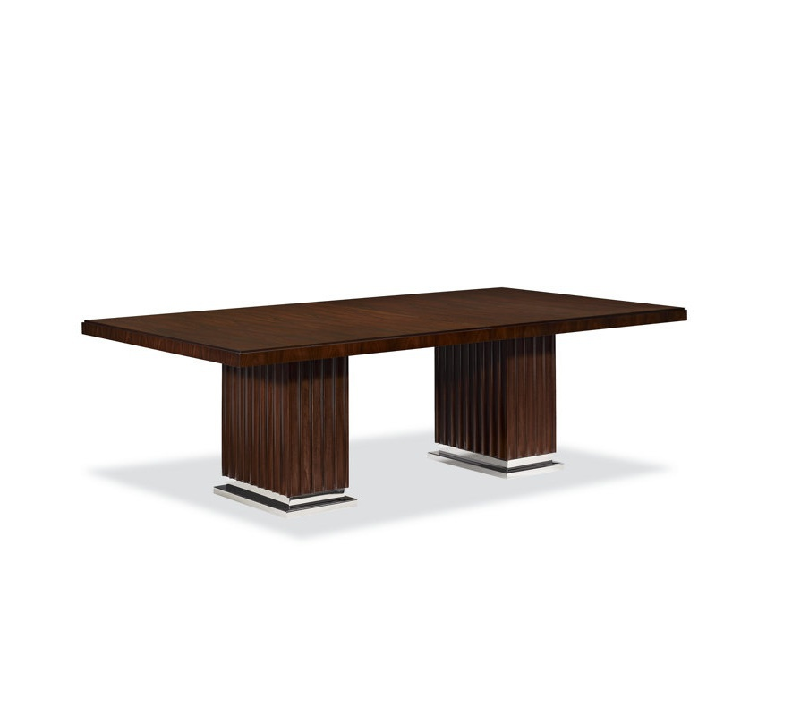 The Duke Pedestal Dining Table Ralph Lauren Home Luxury Furniture Mr