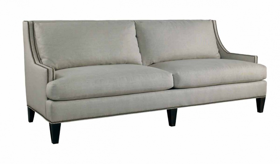 Three seater sofa in fabric Royce Lillian August Luxury
