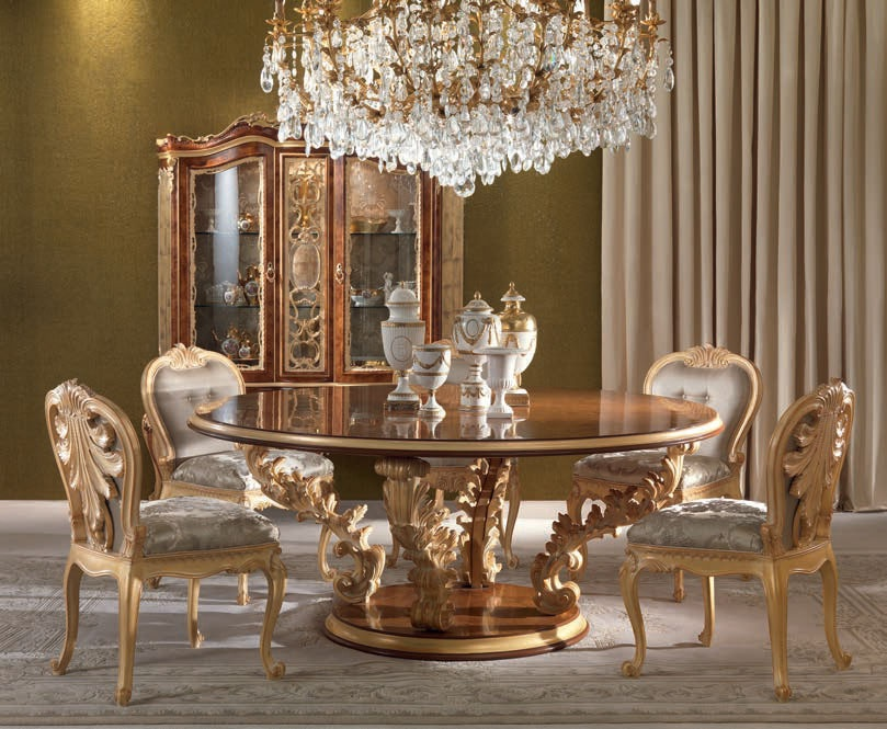 Dining Room Dining Set Jumbo Collection Luxury